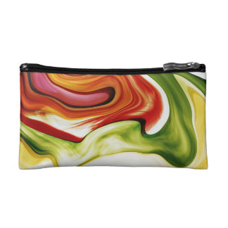 Color in motion small cultural bag cosmetic bag