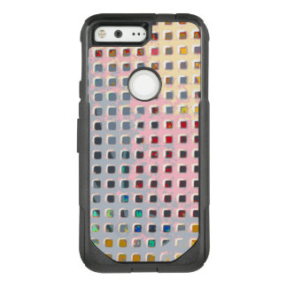 Color in the Grid OtterBox Commuter Google Pixel Case