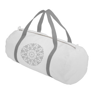 Color It Yourself Duffle, Overnight, Travel Bag Gym Duffel Bag
