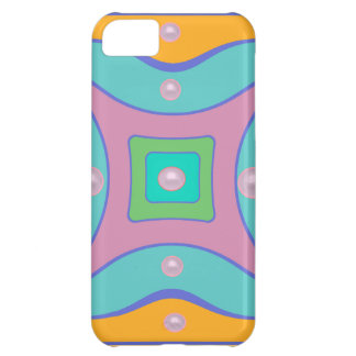Color jigsaw iPhone 5C case