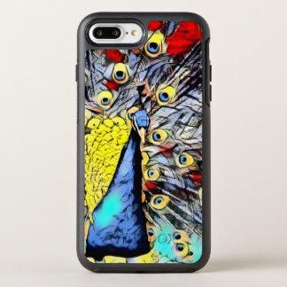 Color Kick - peacock OtterBox Symmetry iPhone 8 Plus/7 Plus Case