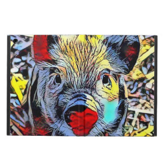 color kick - piglet case for iPad air