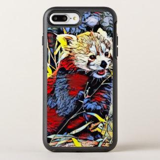 Color Kick - Red Panda OtterBox Symmetry iPhone 8 Plus/7 Plus Case