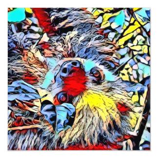 Color Kick - Sloth II Magnetic Card