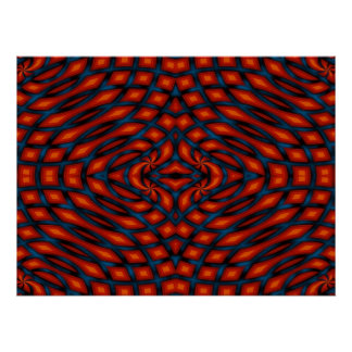 Color Knots - Bold Abstract Pattern Poster