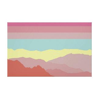 Color Land Canvas Print