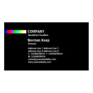 Color Line - Multicolor Business Card