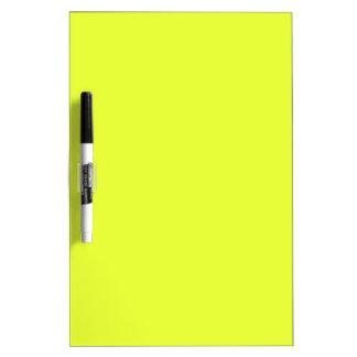 color luis lemon dry erase board
