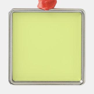 color luis lemon metal ornament