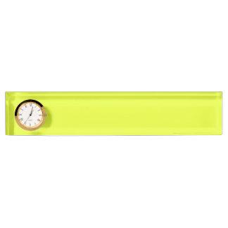 color luis lemon name plate