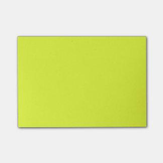 color luis lemon post-it® notes