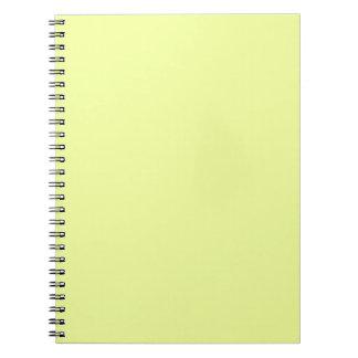 color luis lemon spiral notebooks