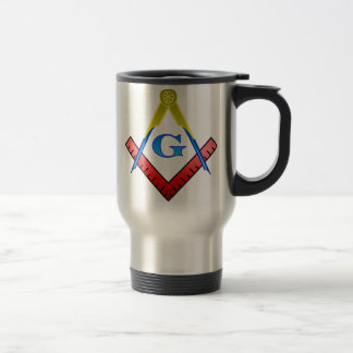Color Masonic Travel Mug
