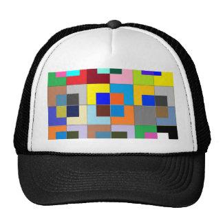 COLOR Maze  : Happy Graphics Mesh Hat