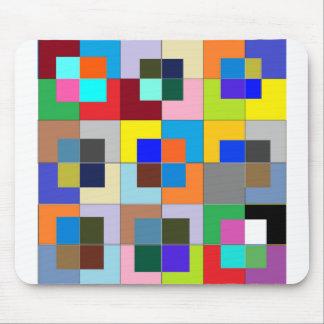 COLOR Maze  : Happy Graphics Mouse Pad