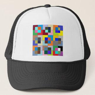 COLOR Maze  : Happy Graphics Trucker Hat