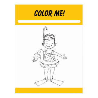 Color Me Activity Card