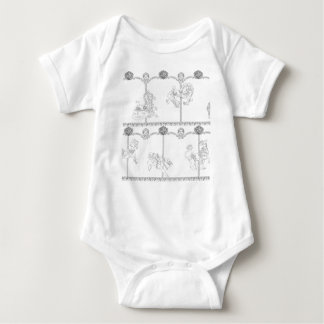 Color Me Carousel Baby Bodysuit