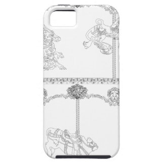 Color Me Carousel iPhone 5 Cover