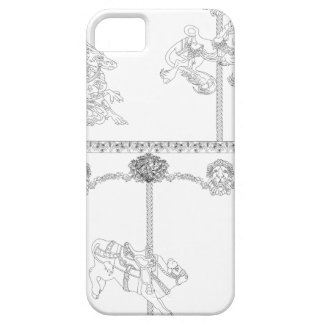 Color Me Carousel iPhone 5 Covers