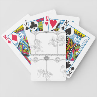 Color Me Carousel Poker Deck