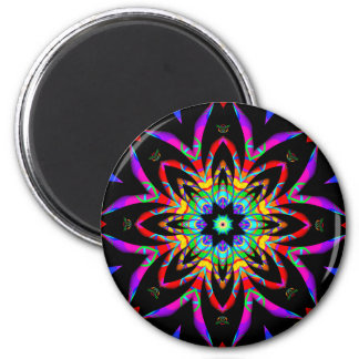Color Me Fantastic Fractal Magnet