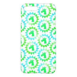 Color Me Green Unicorn iPhone 7 Plus Case