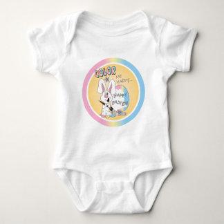 Color Me Happy Easter Bunny Tshirts