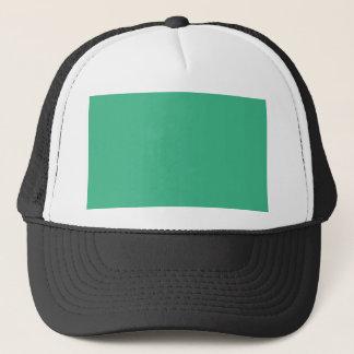 color mint trucker hat