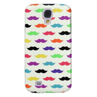 Color My Mustache Galaxy S4 Cover