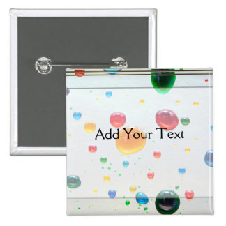 Color My World Bright Paint Drops 15 Cm Square Badge