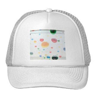 Color My World Bright Paint Drops Mesh Hat