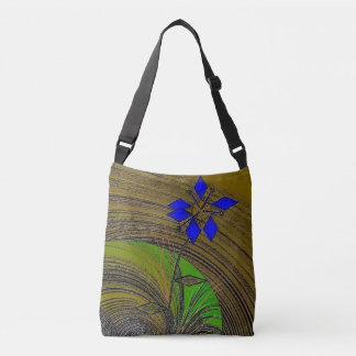 """""""Color My World"""" Cross Body Tote Bag"""