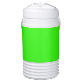 color neon green cooler