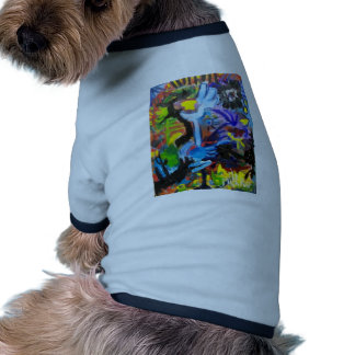 Color of Life 2 by Piliero Pet Tshirt