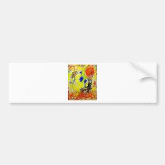 Color of Music Bumper Sticker