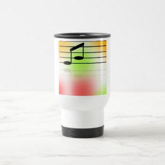 Color of Music Coffee Mugs
