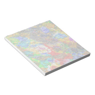 Color palette funny notepad