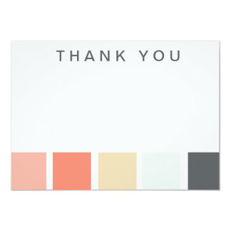 Color Palette Thank You Notes Announcements