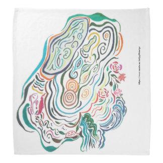 Color Pen Drawing - Ripple of Pond Bandana