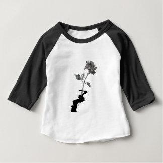 Color Pencil Detroit Rose Baby T-Shirt