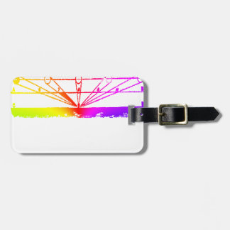 Color Perspective, Zetetic Astronomy by Parallax Luggage Tag
