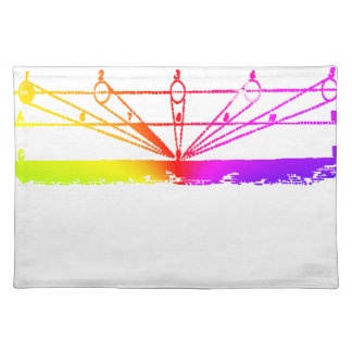 Color Perspective, Zetetic Astronomy by Parallax Placemat