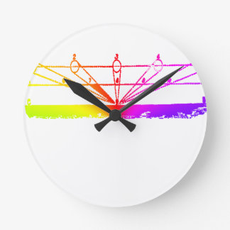 Color Perspective, Zetetic Astronomy by Parallax Round Clock