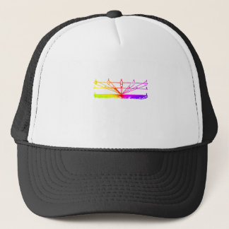 Color Perspective, Zetetic Astronomy by Parallax Trucker Hat