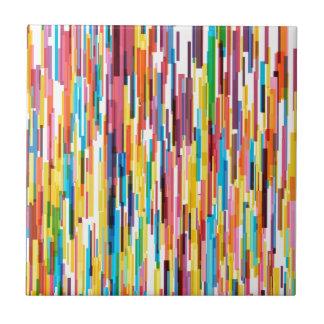 Color Pikes Pattern Tile