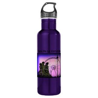 Color Pinhole Place De La Concorde 710 Ml Water Bottle
