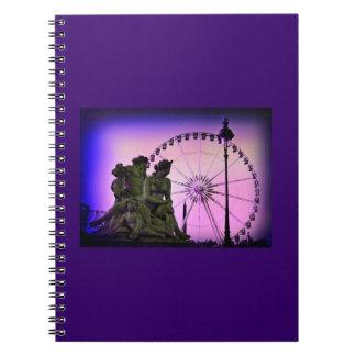 Color Pinhole Place De La Concorde Note Book
