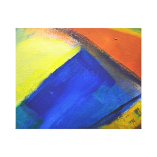 Color play in acrylic on canvas