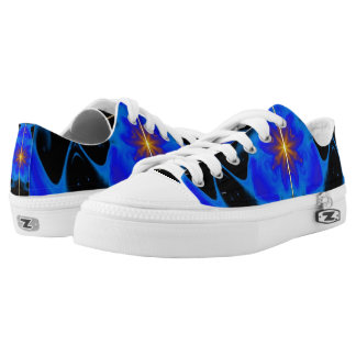 Color Play Printed Shoes